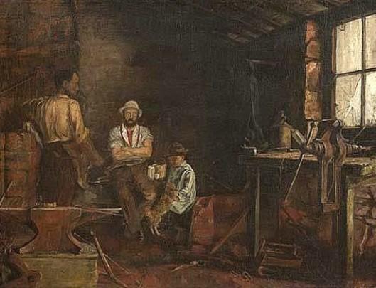 A Blacksmith's Shanty, Franklin County, New York