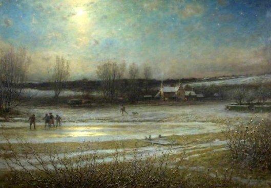 A Frosty Night - The Frozen Mill
