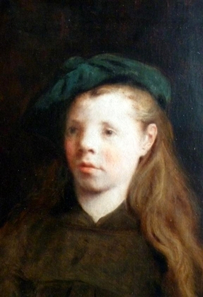A Girl In A Beret
