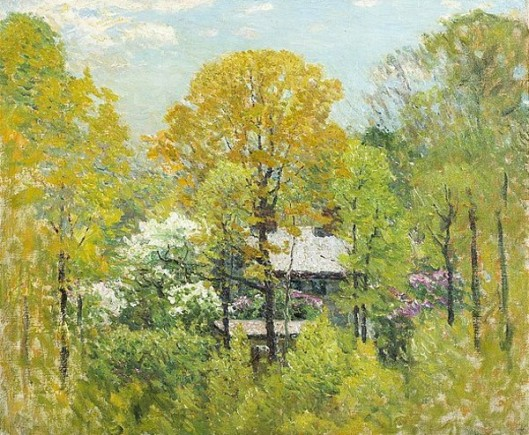 A House In The Woods, Springtime