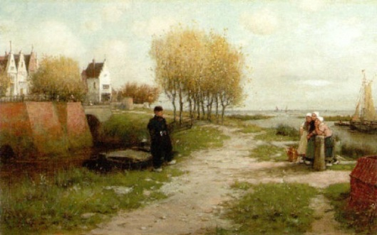 A Morning In North Holland