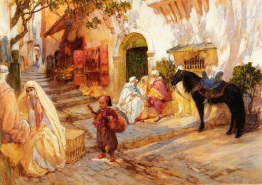 A Street In Algeria