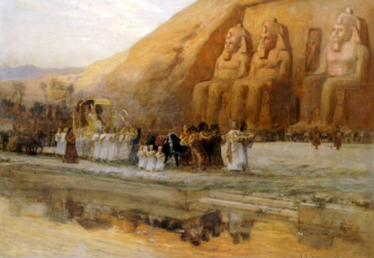 Abu Simbel Temple, Celebration Of The Pharaoh