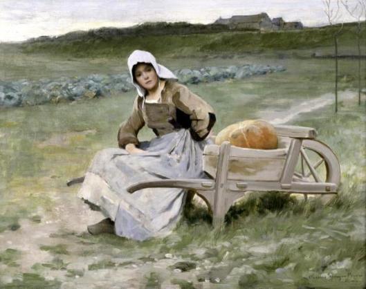 Brittany Farm Girl