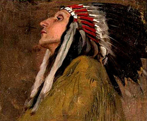 Chief Samuel Lone Bear