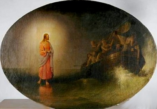 Christ On The Water Calling His Disciples