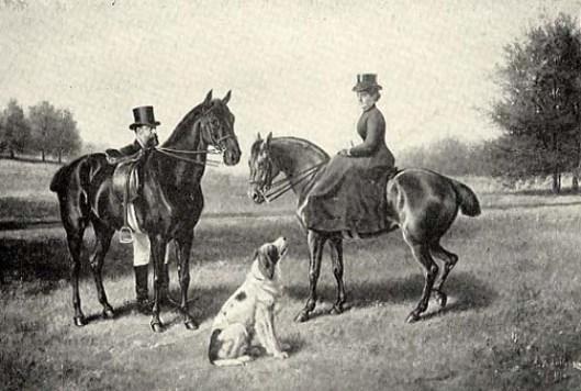 F. B. Osborn With Black Eagle And Princess