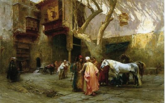 Horse Market At Cairo