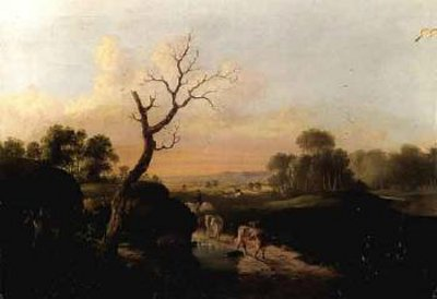 Landscape With Drover And Cattle