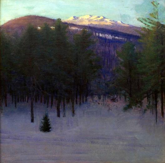 Monadnock In Winter