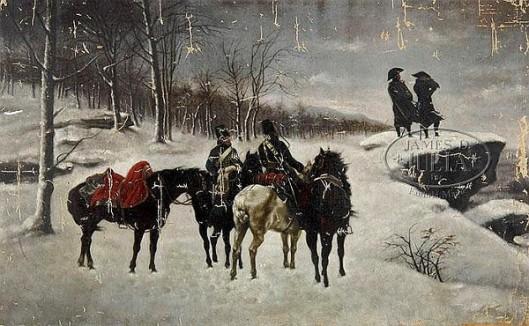 Napoleon In The Russian Winter