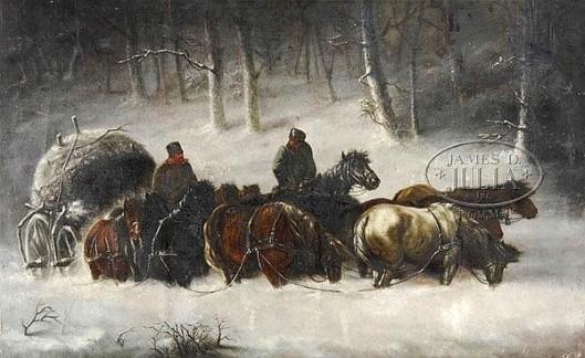 Napoleon's Supply Cart