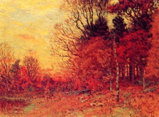 New England Autumn Landscape