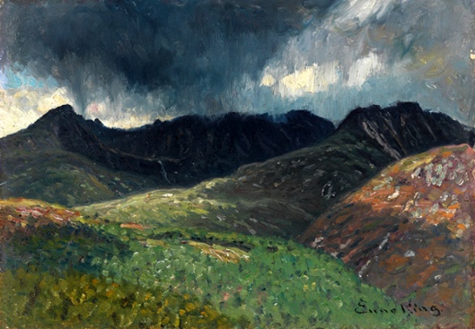 September Squall In The Mountains