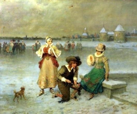 Skating On The Pond