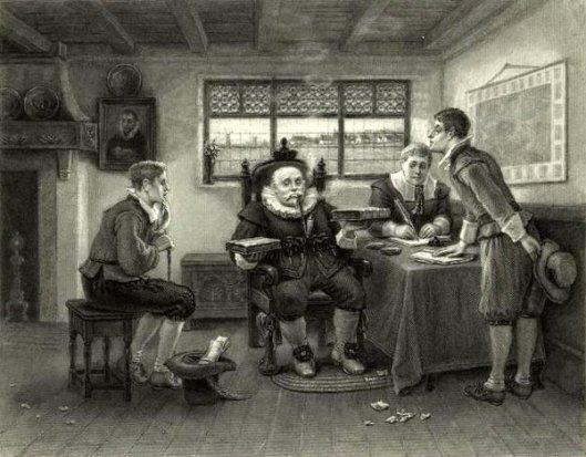 The Judgment Of Wouter van Twiller