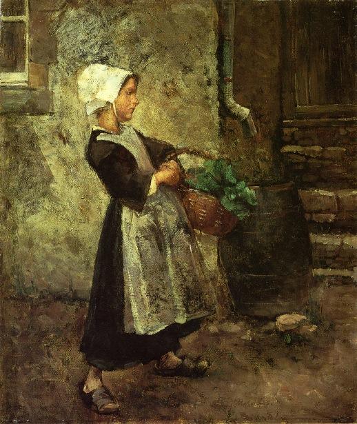 The Vegetable Girl