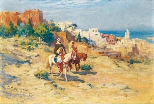 Two Horsemen In Algiers