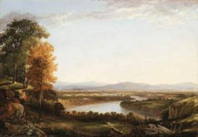 Valley Landscape In Connecticut