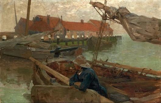 Volendam Harbor