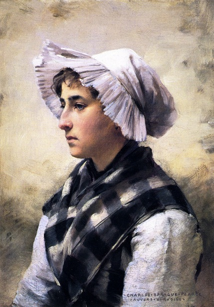 Woman With A Bonnet