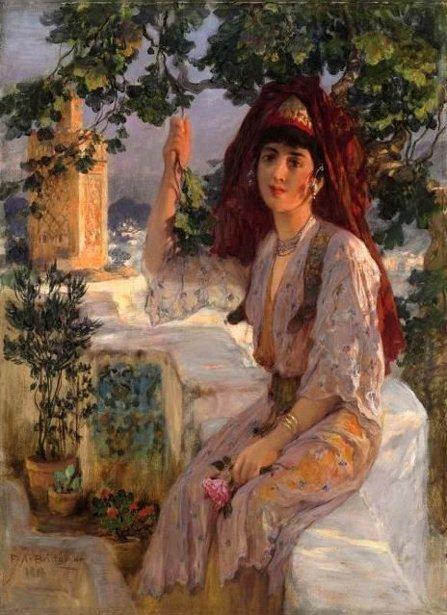 Young Girl Of Tlemcen, Algeria