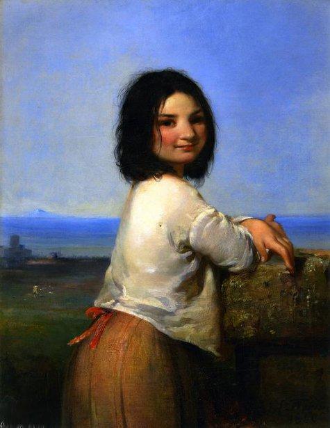 Italian Beggar Girl