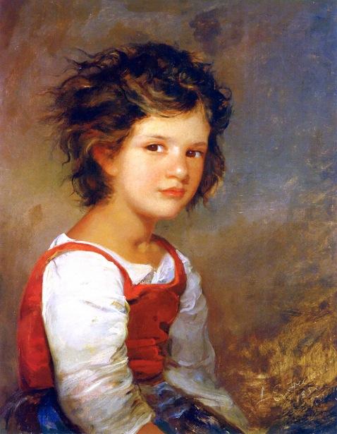 Young Roman Girl