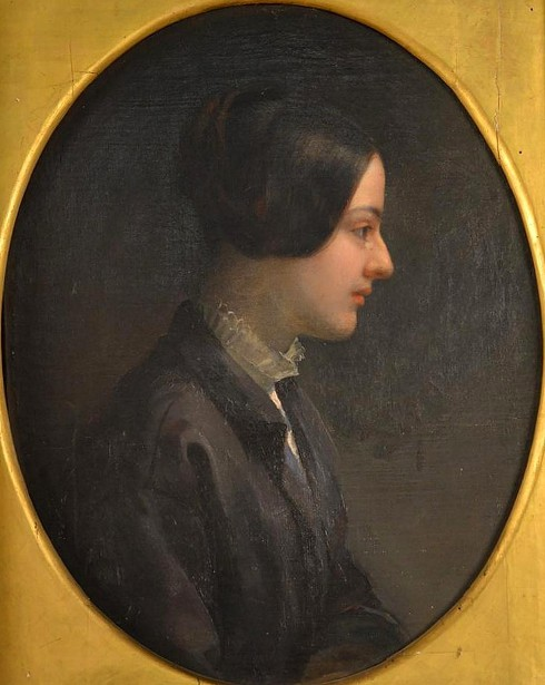 Young Woman In A Black Jacket