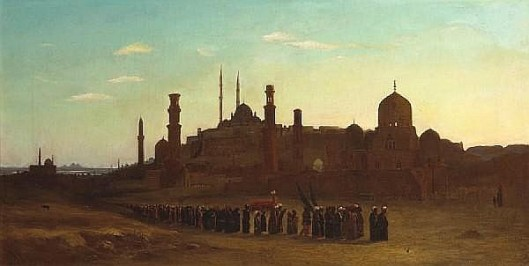 A Procession Outside Cairo