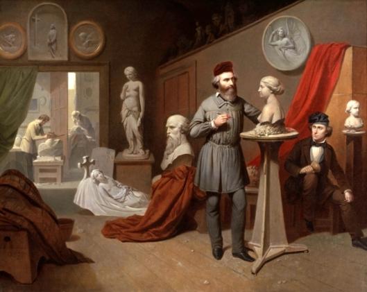 A Sculptor's Studio
