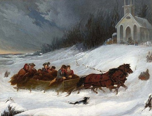A Winter's Day Sleigh Ride