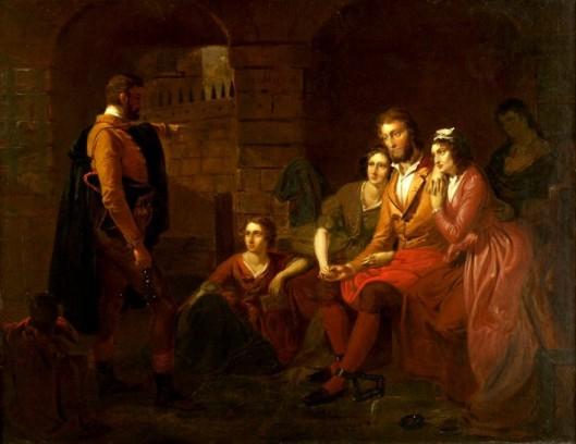 Lafayette In Prison At Olmutz