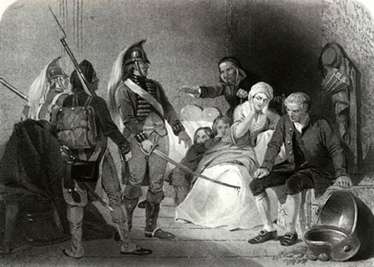 Mrs. Richardson And The British Officers