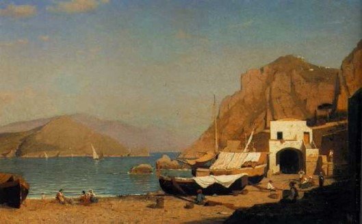 On The Beach, Capri