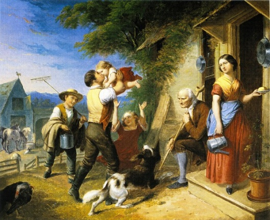 Return From The Fields