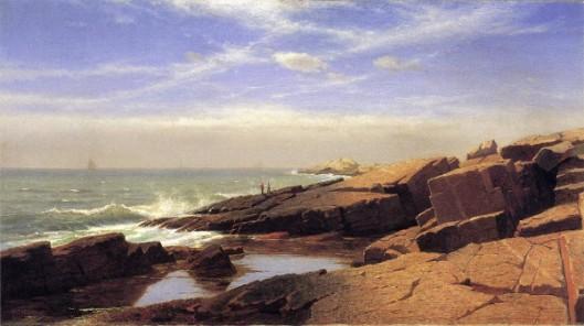 Rocks At Nahant
