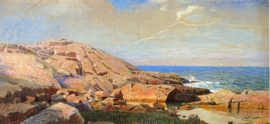Rocky Coast Of New England