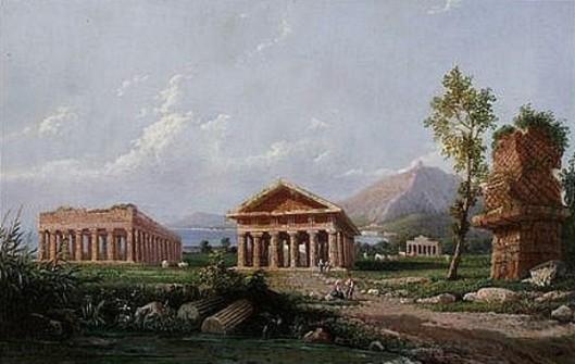View Of Roman Ruin