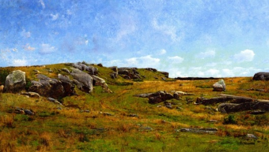 Moorland Path, Cape Ann, Massachusetts