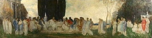 Plato's Garden (Mural for Trinity Church, Boston)
