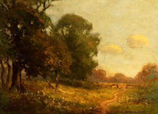 Spring Landscape - Landscape With A Country Lane