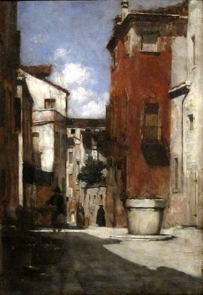 Street Scene In Venice