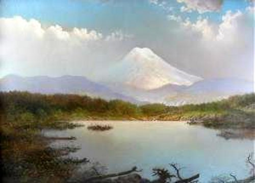Western Mountain Landscape