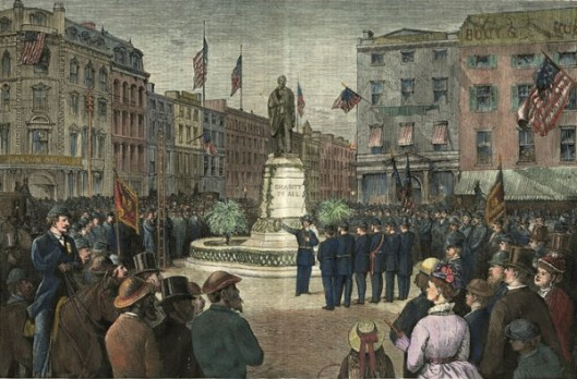 Decoration Day - Services Around The Lincoln Monument, Union Square, New York