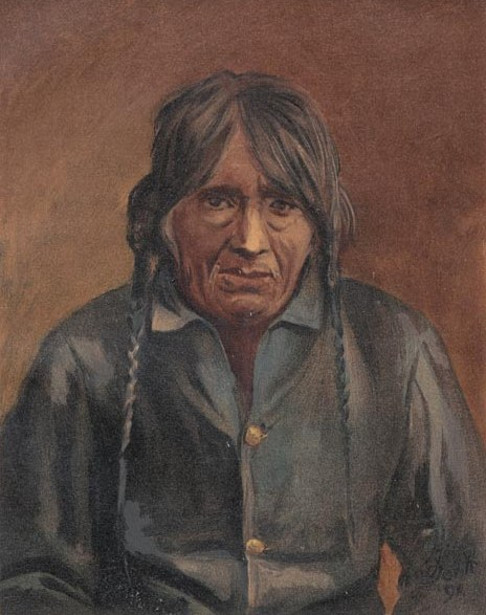 Pasqual (Pachal), Chief Of The Yumas, California