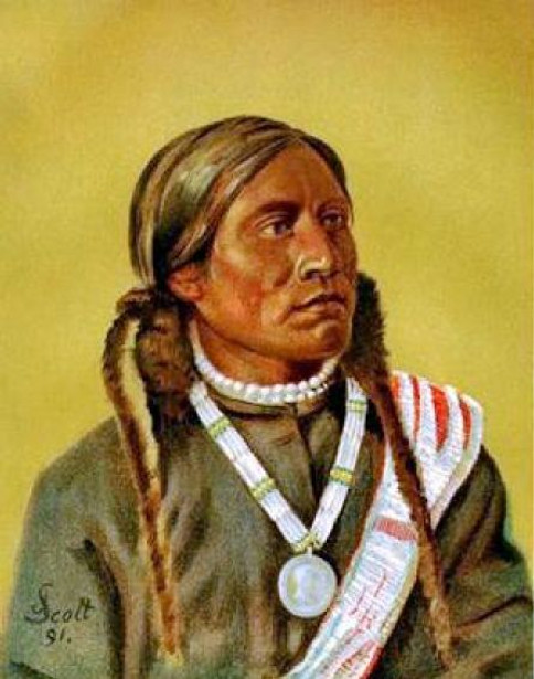 Piah, Ute Chief, Colorado