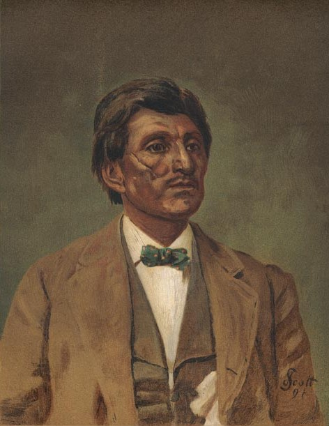 Scar-Faced Charley - Modoc-Quapaw Agency, Indian Territory