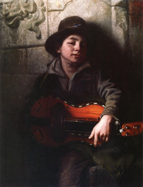The Italian Boy With Hurdy-Gurdy
