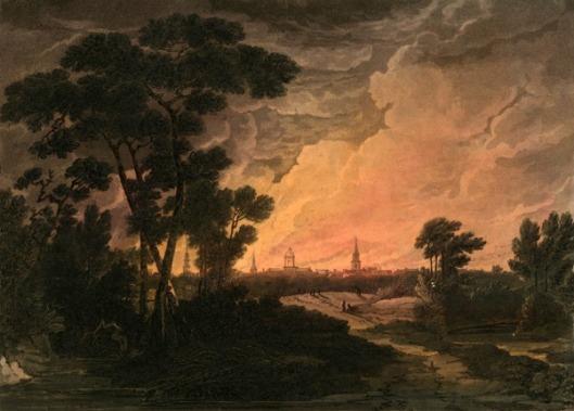 Burning Of Savannah